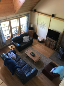Cabin for rent right on Indian Point at Turtle Lake, Sk.