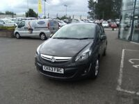 2013 63 VAUXHALL CORSA 1.2 SXI AC CDTI ECOFLEX 5D 73 BHP **** GUARANTEED FINANCE ****