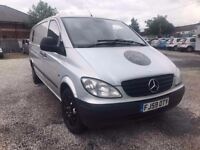 Mercedes-Benz Vito 2.1 111CDI Extra Long Panel Van 5dr FULL HISTORY + TWO KEYS **NO VAT**
