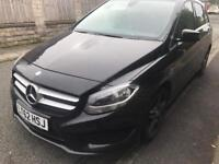 2013 62reg Mercedes B180 Cdi Automatic Black Cheapest New Shape Amg Alloys and bumpers