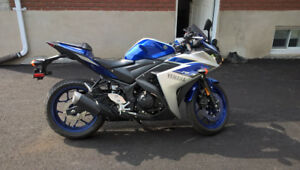 Yamaha R3 2015 particulier 1 seule taxe a payer