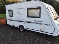 Compass Omega touring caravan