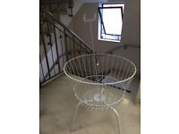 White wire storage baskets - FREE TO COLLECT
