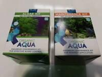 Organic Aqua Fish Tank / Aquarium - Maintenance Kit and Algae Kit £5 for the pair