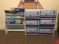 Toy unit and book case £20