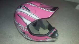 Raider helmet Youth small girls dirt bike biking