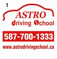 Astro driving school $425 full course! Driving lessons $90!!!