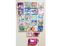 *** Nintendo 3DS pink console & 21 games and accessories ***