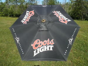 Coors Light Patio Umbrella.
