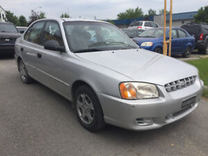 2002 Hyundai Accent ** ONLY 61 000 KM **