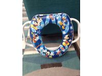 kids toilet training seat, mickey mouse