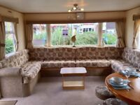 8 Berth static caravan for sale on Norfolk Coast, Not lincolnshire, not Suffolk, not Essex.