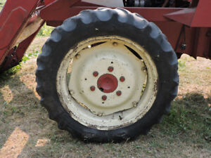 Wtd: Used 8.3x24 tractor tire