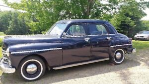 Antique 1949 Plymouth Sedan