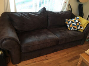 AMAZING Big Brown Couch