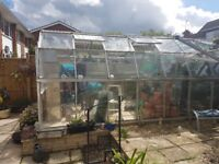 Large Greenhouse extension