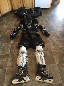 Complete set of Hockey Gear