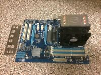 AMD Phenom 2 X4 965 3.4ghz quadcore black edition with AMD3+ motherboard bundle.