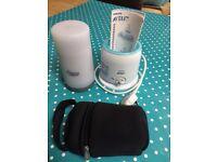 Electric bottle warmer & mobile bottle warmer
