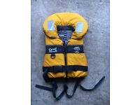 Crewsaver Spiral 100N Life Jacket - As New - Never Been Wet