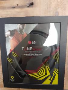 Écouteurs LG Tone active + (bluetooth)