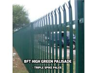 Palisade fencing- the King