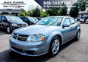 2013 Dodge Avenger SXT, HTD SEATS, A/C, PWR WINDOWS/LOCKS