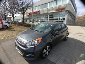 2016 Kia Rio SX-Navigation, DEMO, Sunroof, Heated seats