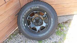 Full size spare tire on steel rim for Ford Escape 2008-2012 NEW!