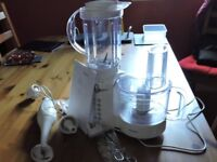 Kenwood Food Processor and blender and hand blender
