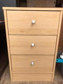CHEAP bedside cabinet FREE DELIVERY PLYMOUTH AREA