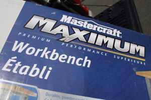 MASTERCRAFT MAXIMUM WORKBENCH | 660LB CAPACITY
