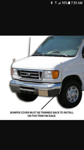 Wanted. Drivers side liscence plate holder. Ford e series vans
