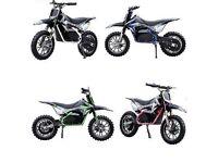 Boys or girls motorbike 49cc bran new