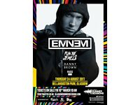 4x Eminem Tickets + TravelLodge Accomodation