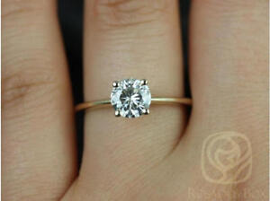 0.63ct round solitaire engagement ring