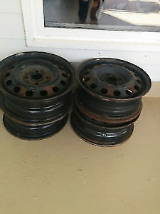 Set of 4 rims for 2001 Honda Civic