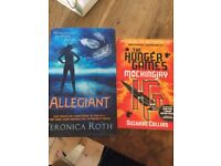 Books - Allegiant and Hunger Games
