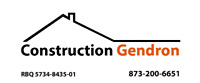 CONSTRUCTION GENDRON