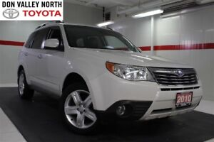 2010 Subaru Forester 2.5X Limited Sunroof Btooth BU camera Lther