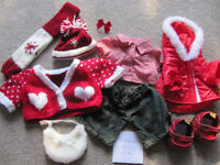 Bundle 12- set of BABW or equivalent bear clothes- red set- £10