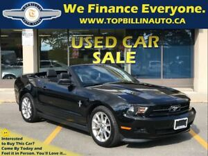 2011 Ford Mustang Convertible 6 Speed, Only 59K kms
