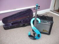 Stagg 4/4 Electric Violin With amplifier