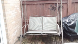 Great condition deck swing chair for sale in Drayton Ontario