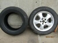 2 tires - excellent condition