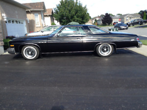 1976 BUICK LESABRE CUSTOM, TWO DOOR COUPE with 20462 original mi