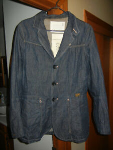 AUTHENTIC G-STAR RAW WOMEN'S DENIM JACKET Size Med/Large