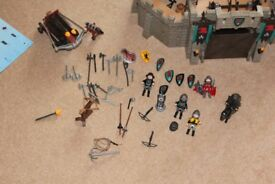 Playmobil Knights Castle and Accessories