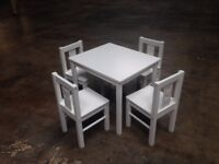 BRAND NEW Ikea KRITTER Children's Table & x4 Chairs Total RRP £65.00 - PICK UP ASAP