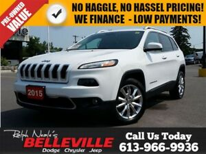 2015 Jeep Cherokee Limited - Leather - NAV - Power Tailgate